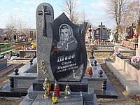 1.16. Памятник гранитный одинарный оригинальный