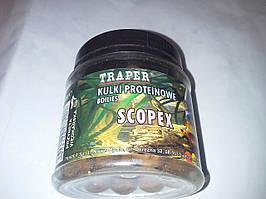 Бойлы тонущие TRAPER(ТРАПЕР) scopex(скопекс)