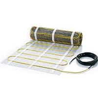 Тонкий нагревательный мат для теплого пола под плитку без стяжки | In-Term 4,4 м2, 870 Вт