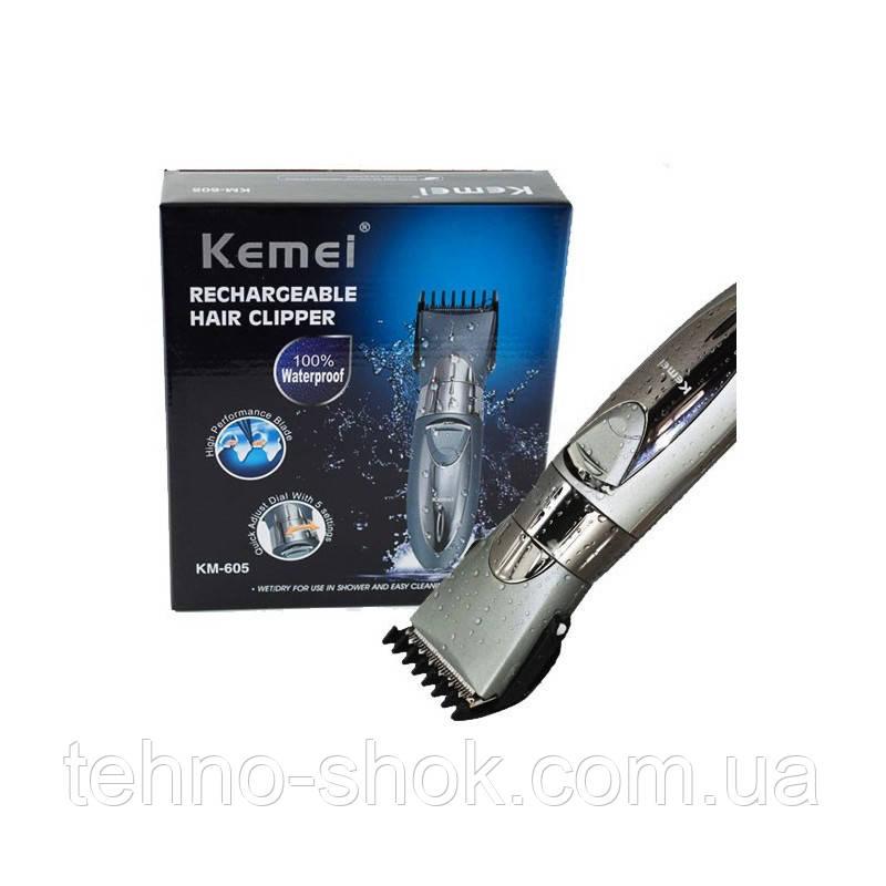Машинка для стрижки Kemei KM-605