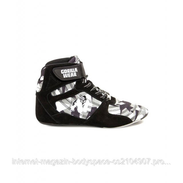Gorilla Wear, Кроссовки Perry High Tops Pro - Black/Gray Camo