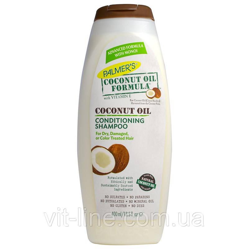 Palmer's, Шампунь-кондиционер на основе кокосового масла, 400 мл