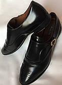 Туфли женские, Massimo Dutti, натуральная кожа, черные размер 39/40