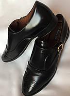 Туфли женские, Massimo Dutti, натуральная кожа, черные размер 39/40, фото 1