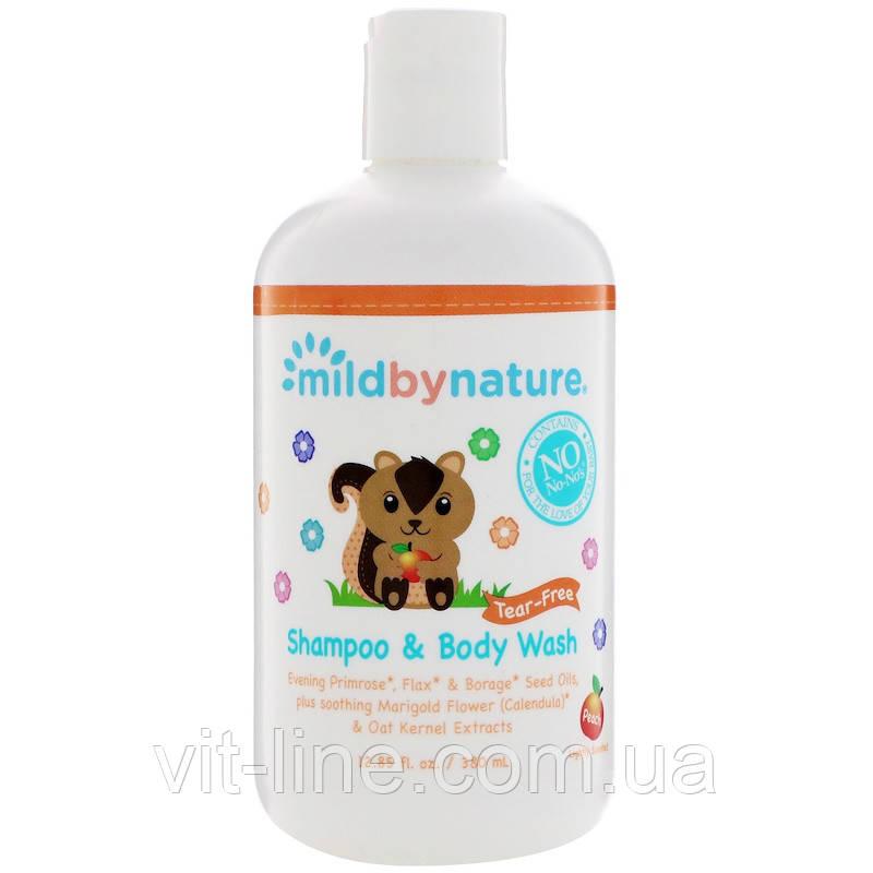 Mild By Nature, Дитячий шампунь без сліз із запахом персика (380 мл)
