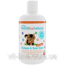 Mild By Nature, Детский шампунь без слез с запахом персика (380 мл)