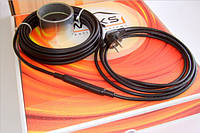 Саморегулирующийся кабель Woks-SR-10 13м (10 Вт/м.п.), обогрев труб
