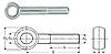 Болт откидной М10 ГОСТ 3033-79, DIN 444, фото 2