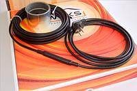 Саморегулирующийся кабель Woks-SR-17 3м (17 Вт/м.п.), обогрев труб, фото 1