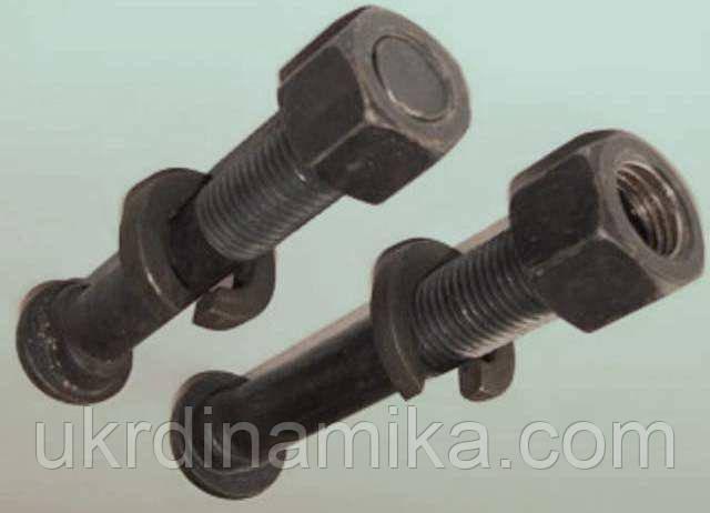 Болт путевой М18х88 (для рельсовых стыков) ГОСТ 8144-73