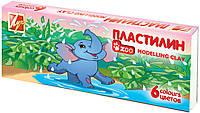 """Пластилин """"Зоо""""(""""Мини"""")  6 цв. 81 г. 19С1271-08"""