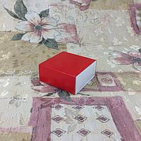Коробка для пряников / 80х80х35 мм / печать-Красн / б.о.