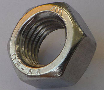 Гайка из нержавейки М7   DIN 934, ISO 4032  A4, фото 2