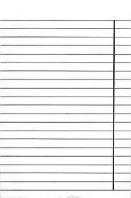 Тетрадь для слабовидящих 12 листов, линия