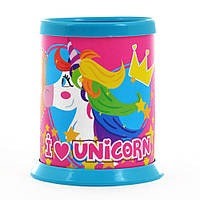 Стакан для письменных принадлежностей разборной Magic unicorn 491493
