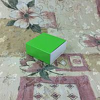 Коробка для пряников / 80х80х35 мм / печать-Салат / б.о.
