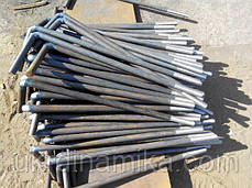 Болт фундаментный М30 ГОСТ 24379-80, фото 3