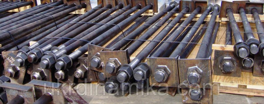 Болт фундаментный М48 ГОСТ 24379-80