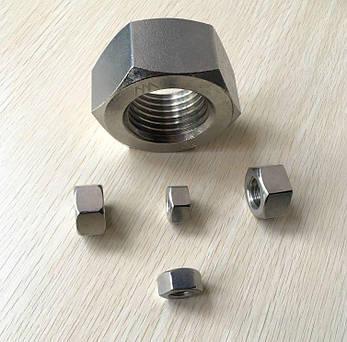 Гайка из нержавейки М12 | DIN 934, ISO 4032| A4, фото 2