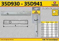 Ключ торцевой двухсторонний трубчатый L1-200мм., 30 x 32мм.,  TOPEX 35D941
