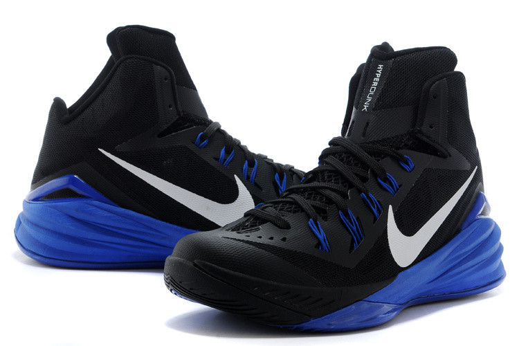 official photos ded9b 149b8 ... promo code for nike hyperdunk 2014 black blue shoes mania 4d5e3 423b3