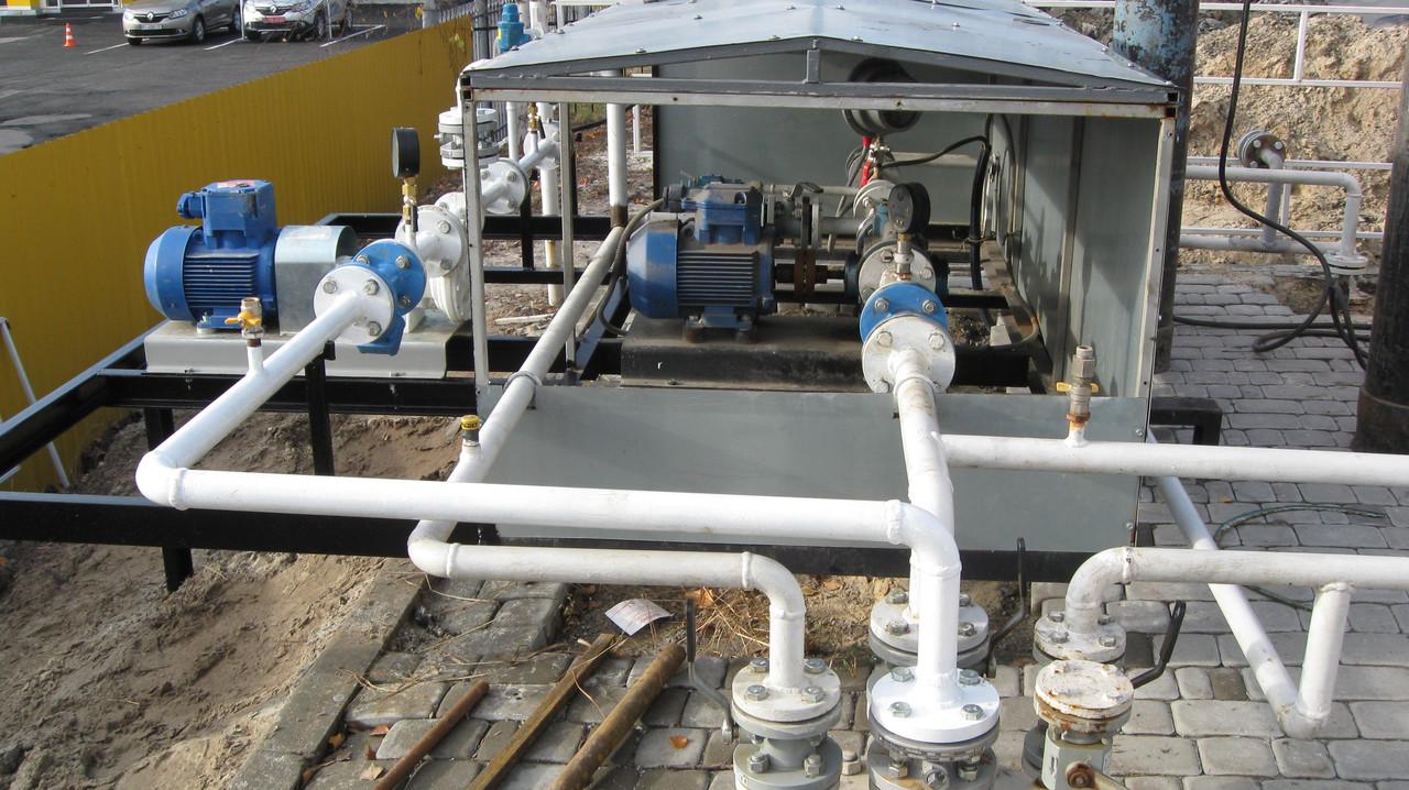 Подземная газовая заправка 10 м3