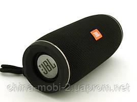 JBL Flip X Portable Wireless Speaker 10W репліка, портативна колонка з Bluetooth FM MP3, чорна, фото 3