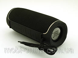 JBL Flip X Portable Wireless Speaker 10W репліка, портативна колонка з Bluetooth FM MP3, чорна, фото 2