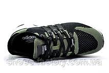 Бігові кросівки стилі Adidas Equipment Torsion, White\Black\Green, фото 2