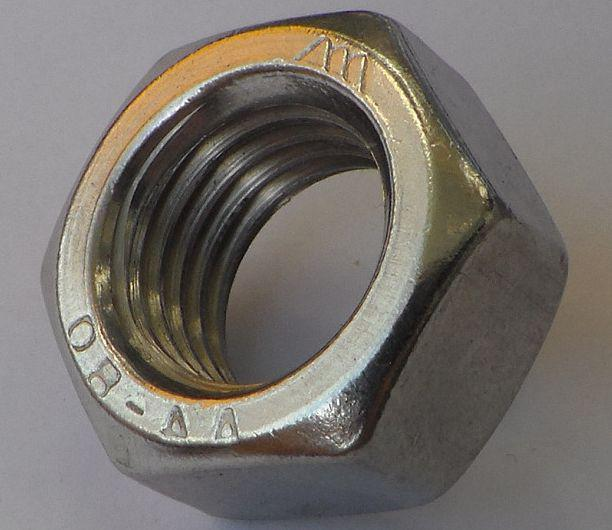 Гайка из нержавейки М20 | DIN 934, ISO 4032| A4
