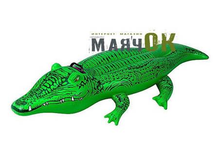 Надувной плотик Intex 58546, Крокодил, 168х86см, фото 2