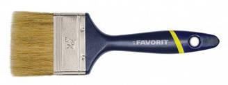 Пензель флейцевий, тип Англійський , пластикова ручка 1 Favorit 01-020   кисть английский пластиковая