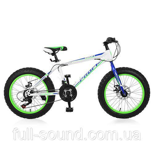 Велосипед  fat bike Profi Power 26'