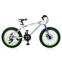 Велосипед  fat bike Profi Power 26' , фото 1