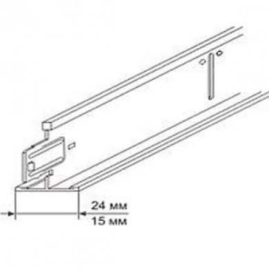 Профиль KRAFT Fortis Т-24 1200*25*24мм белый