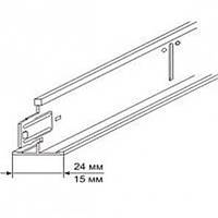 Профіль KRAFT Fortis Т-24 1200*25*24мм білий