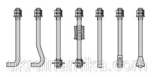 Болты фундаментные съемные ГОСТ 24379.1-80 тип 4 исполнение 1, 2 и 3