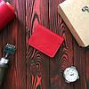 Обложка БрадВей для авто-документов с прозрачными отделениями 282024 - красная