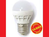 Лампочка LED LAMP E27 3W Круглая UKC