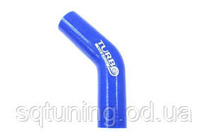 Силиконовый патрубок TurboWorks - Угол 45° - 35 мм