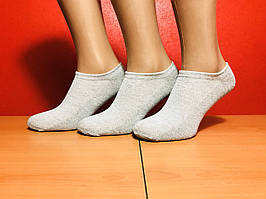 Носки мужские укороченные сетка Marca размер 40-46 серые