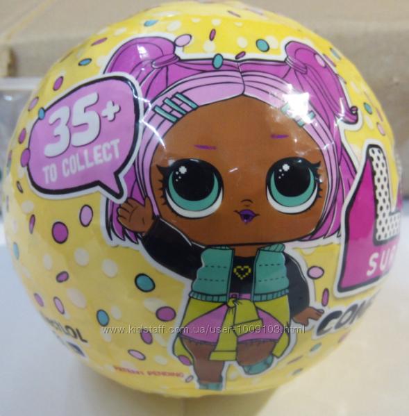 Кукла в шаре Невероятный сюрприз L. O. L. Surprise серия 3 Конфетти