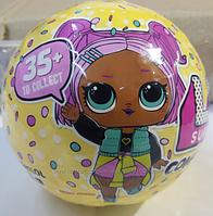 Кукла в шаре Невероятный сюрприз L. O. L. Surprise серия 3 Конфетти, фото 1
