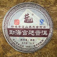 Классический шу пуэр, 357 грамм, 2008 год, китайский чай для похудения