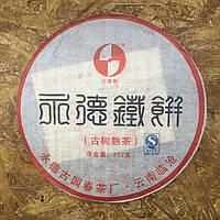 Шу (темный или черный) пуэр очень высокого качества, высокоферментированный, искуственно состаренный чай