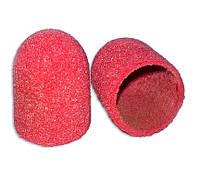 Колпачок шлифовальный песочный красный (d=16мм), грубый абразив, фото 1