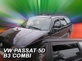 Дефлекторы окон (ветровики)   VW Passat B3/B4 1988-1996 5D Combi 4шт (Heko)