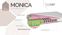 Матрас Моника 21см 200*90 (Multi Pocket 3+кокос) Monika серия Home, фото 1