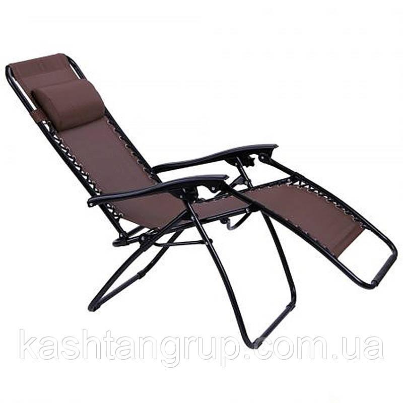 Шезлонг Релакс CGS003 коричневый