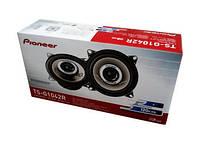 Автомобильные колонки 10 см двухполосные Pioneer TS-G1042R мощность 120W